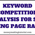 How To Do Keyword Competition Analysis For SEO Using PageRank