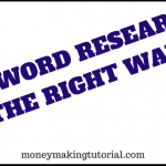 How To Do Keyword Research Using Google Keyword Planner