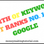 How Much You Can Make If The Keyword Ranks No.1 on Google